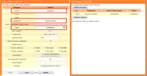 Rys. 7. Konfiguracja linii miejskiej VoIP w centralach Prima nano i Prima.