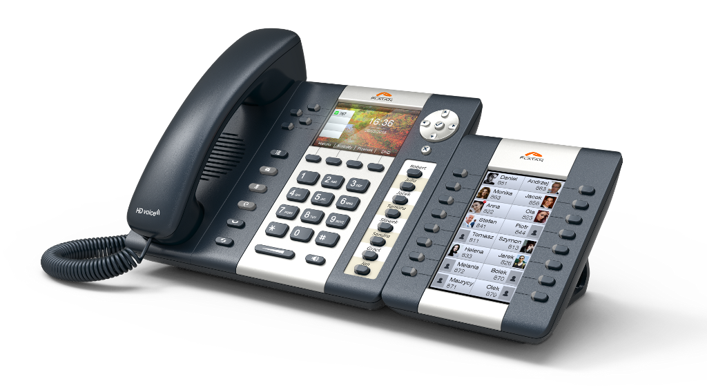 Telefon Platan IP-T216CG zkonsolą