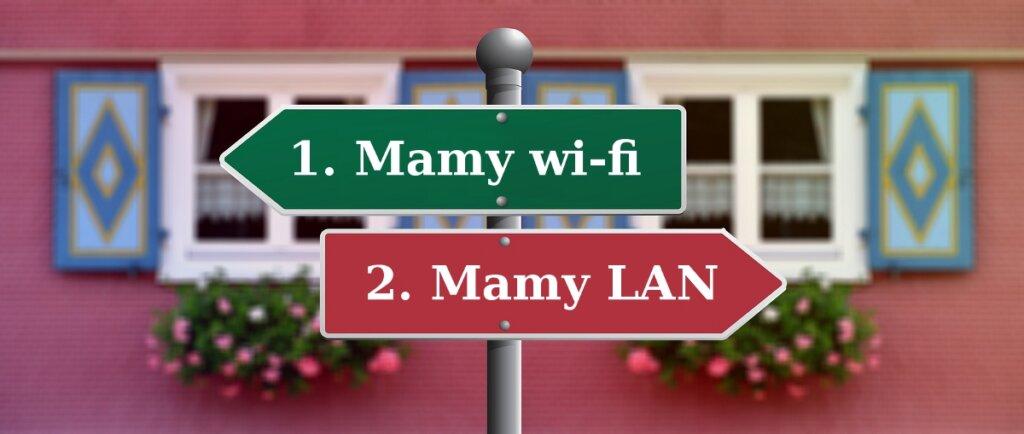 Co robić, gdy pominięto telefony? Dwa przypadki do rozważenia: gdy mamy sieć wi-fi lub LAN