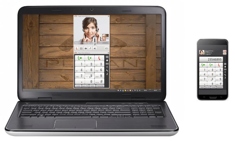 Aplikacja Platan Video Softphone